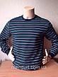 Фуфайка (футболка с длинным рукавом) мужская на байке ХЛОПОК  УЗБЕКИСТАН, фото 6
