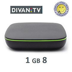 DIVAN TV BOX 18   медиаплеер с подключением и подпиской на любой пакет Divan !
