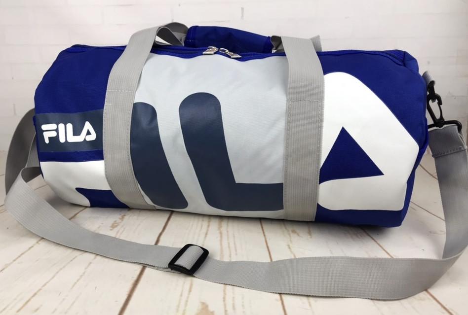 d63a72476879 Небольшая красивая спортивная сумка бочонок Fila. Раз.44см на 23 КСС12-3,
