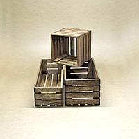 Короб для хранения Неаполь капучино В20хД15хШ60см