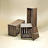 Короб для хранения Неаполь капучино В20хД20хШ25см