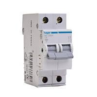 Автоматический выключатель Hager In 63А, 2п, С, 6 kA, 2м (MC263A)