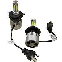 Комплект светодиодных LED ламп Xenon S2 H4 Ксенон