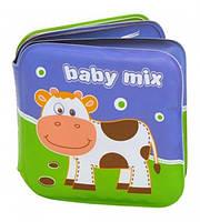 Книжка-пищалка для ванной Ферма, Baby Mix, GS-161CT