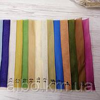 Легкий однотонный шифон на метраж разные цвета,высота 2.8м-3м, ширина наборная, фото 2