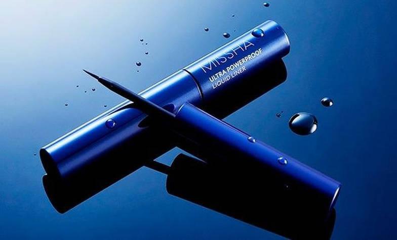 Подводка для глаз тонкая ультра-стройкая MISSHA ULTRA POWERPROOF SLIM LINER/ чорная, фото 3