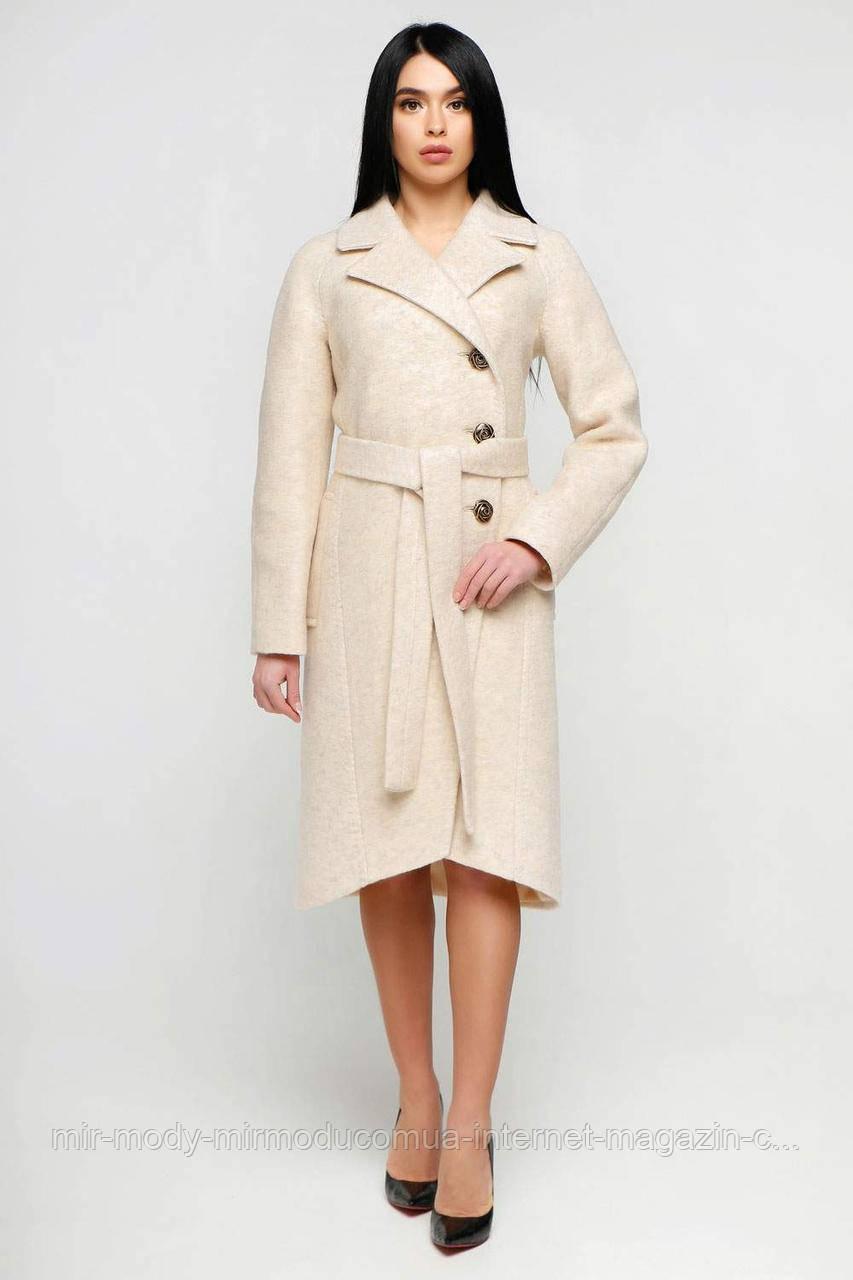 Пальто  демисезонное женское В-1179 Cost Тон 87  (5 расцветок) с 44 по 54 размер (фт)