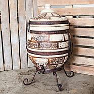 Тандыр Престиж-1 50 л. Дизайн «Кирпич», фото 4