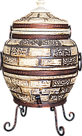Тандыр Престиж-3 на 80 литров. Дизайн «Кирпич»
