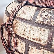 Тандыр домашний серии Люкс-1 на 50 литров. Дизайн «Кирпич», фото 7