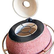 Тандыр Утепленный на 75 литров. Дизайн «Мраморная крошка», фото 3