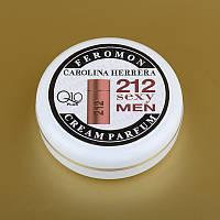 Парфюмированный крем для рук и лица с феромонами 212 Sexy Men Carolina Herrera + Q10 50 мл