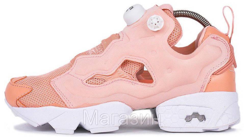 Женские кроссовки Reebok InstaPump Fury Rose Рибок Инста Памп розовые