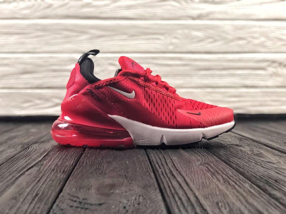 8bce1a61 Женские кроссовки Nike Air Max 270 (в стиле Найк Аир ) красные ...