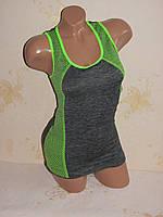 Спортивная женская майка, одежда для фитнеса,  размер 42-50, фото 1