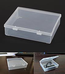 Контейнер / коробка пластиковая прозрачная JUWEI 103*86*27 для хранения мелочей и аксессуаров