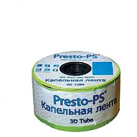 Лента для капельного полива и орошения 3D Tube эмиттерная 30 см (бухта 500 м)