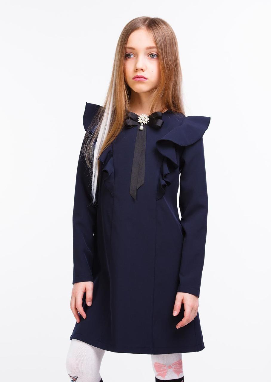 Платье Моника синий