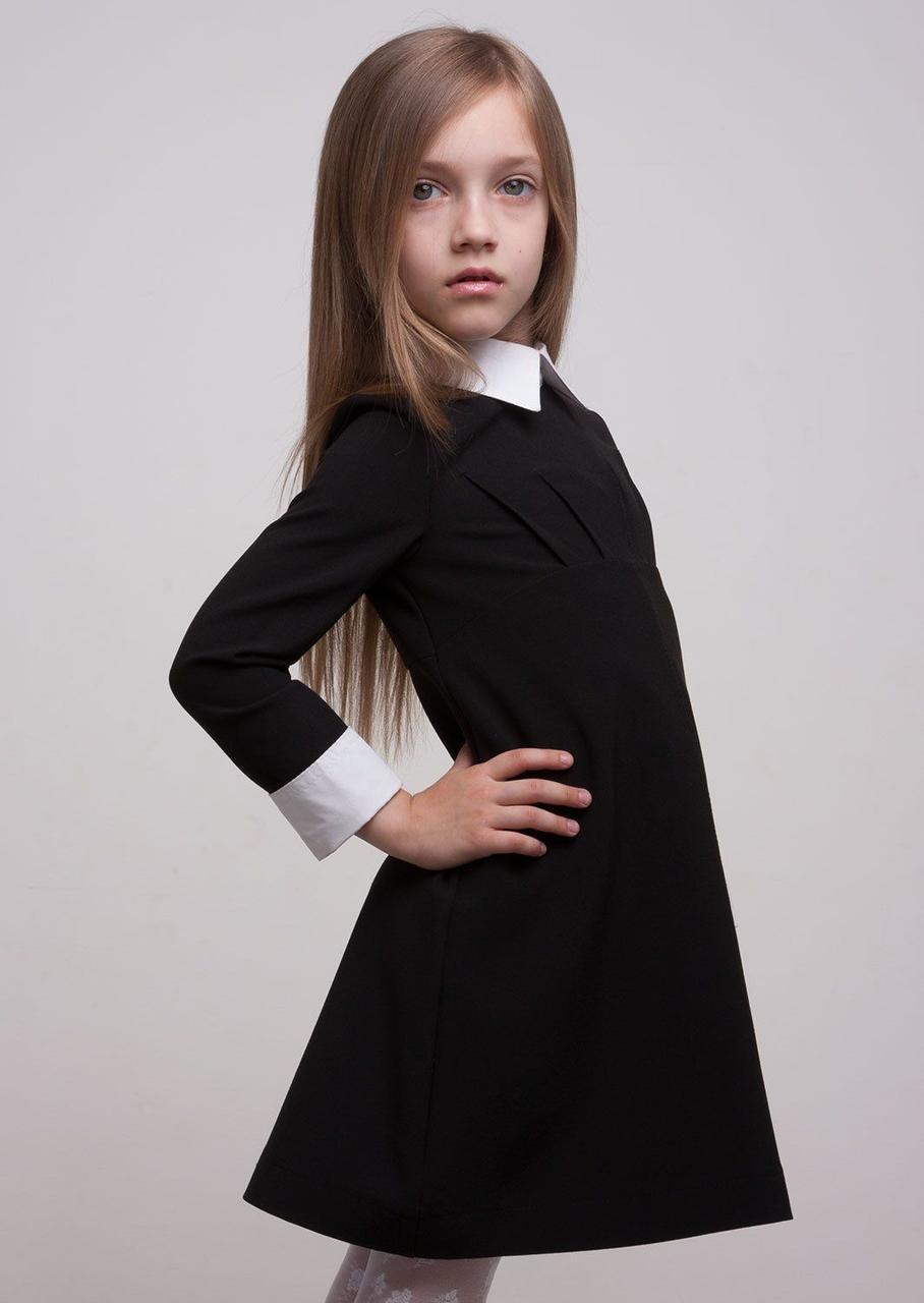Платье Лидия с воротником подросток Sofia Shelest