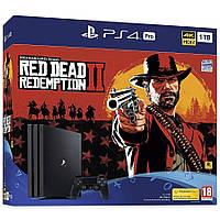Игровая приставка Sony PlayStation 4 Pro 1TB + игра Red Dead Redemption 2, фото 1