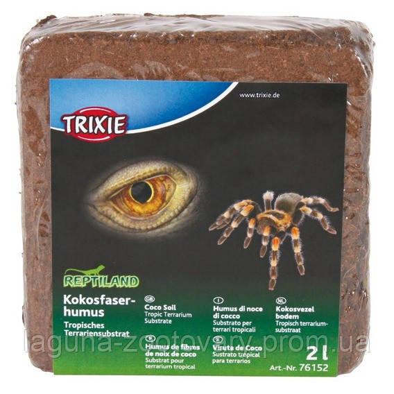 Пресований наповнювач в тераріум для павуків (кокос) 2л.