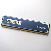 Игровая оперативная память Kingston DDR3 4Gb 1600MHz PC3 12800U 1R8/2R8 CL9 (KHX1600C9D3B1K2/8GX) Б/У, фото 1