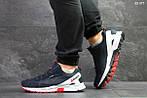 Чоловічі кросівки Reebok Dmx Max (синьо-білі), фото 3