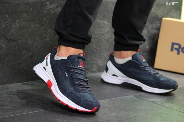 Чоловічі кросівки Reebok Dmx Max (синьо-білі)