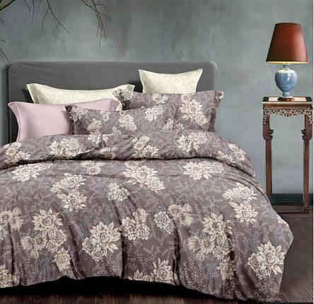 Постельное белье Корица сатин ТМ Комфорт-Текстиль (Евро макси), фото 2