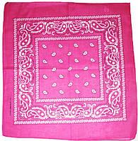 ⭐Бандана классическая ярко-розовая, фото 1