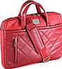 """Практичная женская сумка для ноутбука 15"""" - 15,6"""" Continent CC-036 Red красный"""