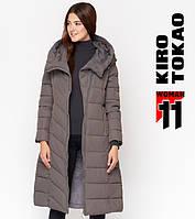 11 Kiro Tokao | Зимняя женская куртка DR23 серая