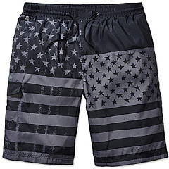 Плавательные шорты Brandit Swimshorts BLACK PRINT L/XL Черный (9153.117-L/XL)