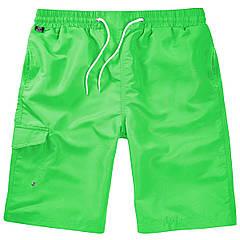 Плавательные шорты Brandit Swimshorts LIME 2XL/3XL Зеленый (9153.54-2XL/3XL)