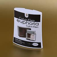 Мужская туалетная вода Calvin Klein Euphoria for men в кассете 50 ml (трапеция) ASL