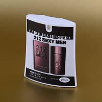 Мужская туалетная вода 212 Sexy Men Carolina Herrera в кассете 50 ml (трапеция) ASL