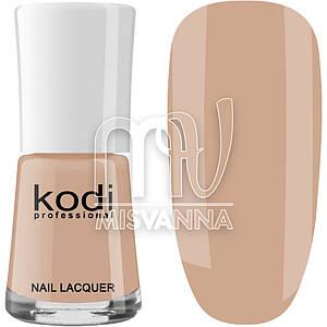 Лак для ногтей Kodi Professional №006, 15 мл теплый бежевый