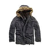 Куртка Brandit Vintage Explorer S Черная (3120.2-S)