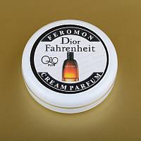Парфюмированный крем для рук и лица с феромонами Christian Dior Fahrenheit Кристиан Диор Фаренгей + Q10 50 мл