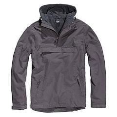 Куртка ветровка Brandit Windbreaker ANTHRAZIT L Темно-серый (3001.5-L)