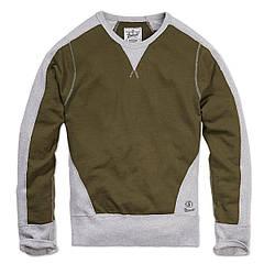 Кофта Brandit Liam Sweatshirt Rip XXL Хаки с серым (5014-XXL)