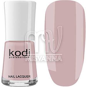 Лак для ногтей Kodi Professional №007, 15 мл бежево-розовый