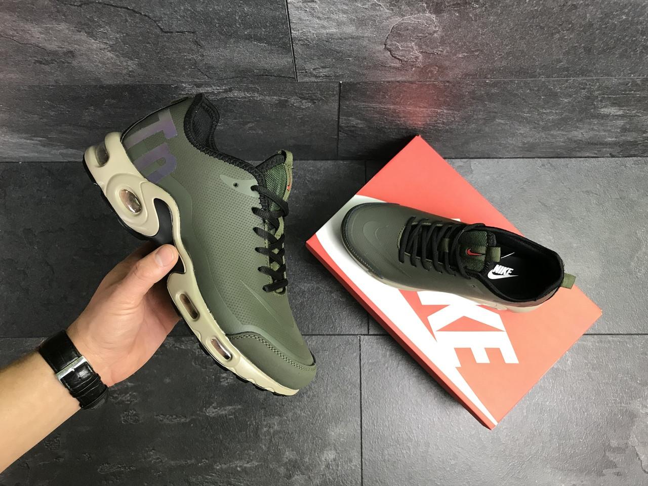 567722cb Я в шоке!™ | Мужские кроссовки темно зеленые Nike Air Max TN 7269 ...