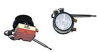 Терморегулятор для бойлера универсальный 30°C-90°C (капилярный,две клеммы,16A,с ручкой)