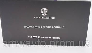 Модель автомобіля Porsche 911 GT3 RS (991 II) Weissach Package, Scale 1:18, фото 2