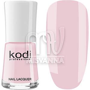 Лак для ногтей Kodi Professional №008, 15 мл нежно-розовый
