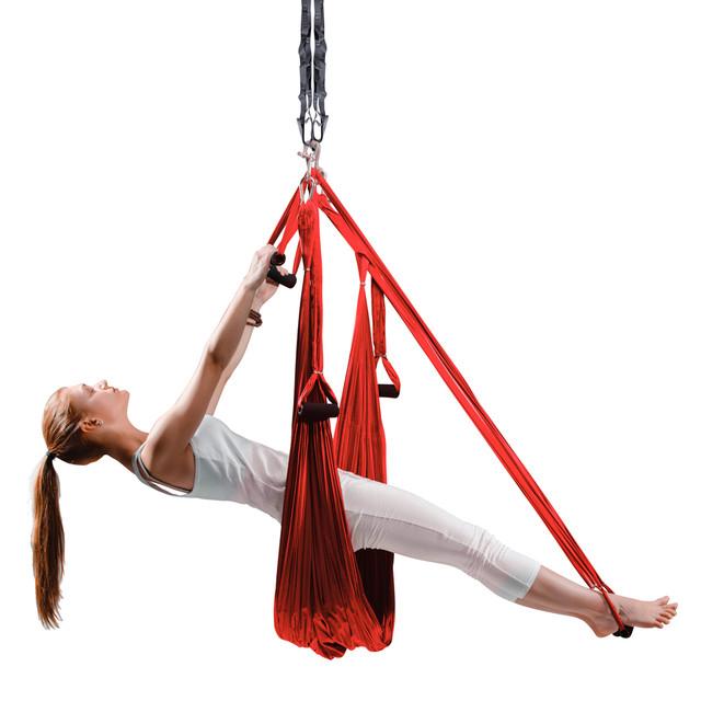 Гамаки для йоги