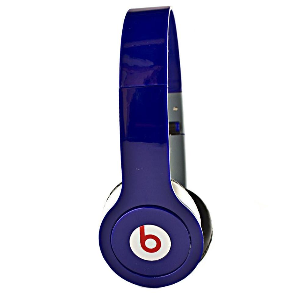 Наушники Monster Beats by Dr.Dre Solo синие - Оптовый интернет магазин