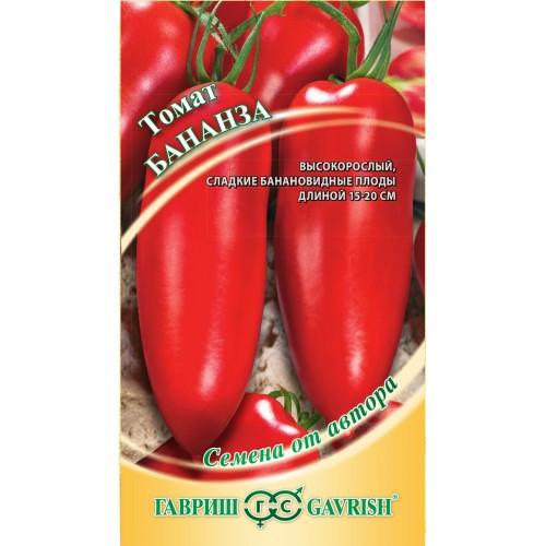 Насіння томату Бананза 0,1 г ТМ ГАВРИШ