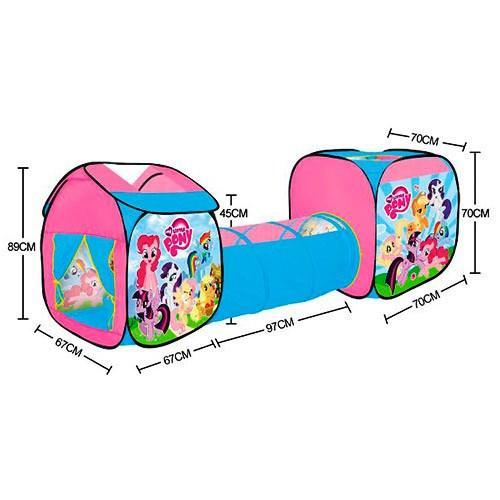 Детская игровая палатка с тоннелем Литл Пони Little Pony 5790